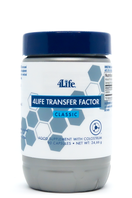 4Life Transfer Factor™ Classic - (90 capsules) - dietary supplement - country of origin: USA
